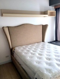 Queen room with beautiful headboard/ box and Duchess pillowtop mattress