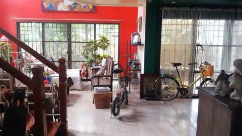 foyer living dining Greenwoods Village Pasig House for Sale