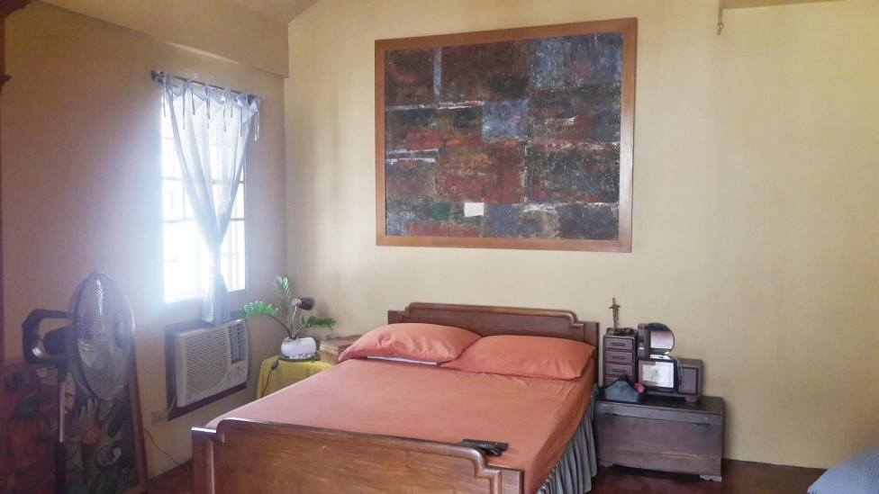 Master Bedroom Greenwoods Village Pasig House for Sale
