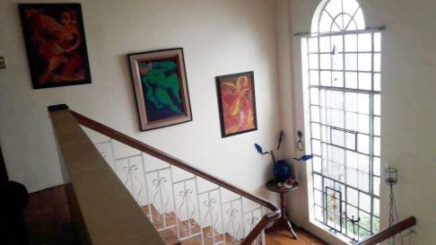 stairs Greenwoods Village Pasig House for Sale