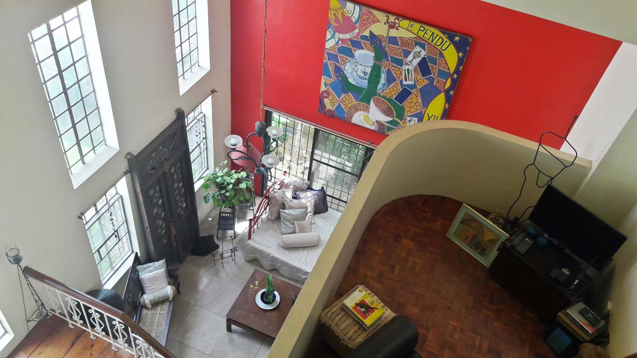 view from attic - Greenwoods Village Pasig House for Sale