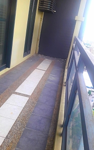 Elongated Balcony