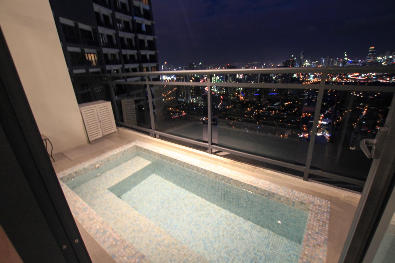 Plunge pool Milano Residences